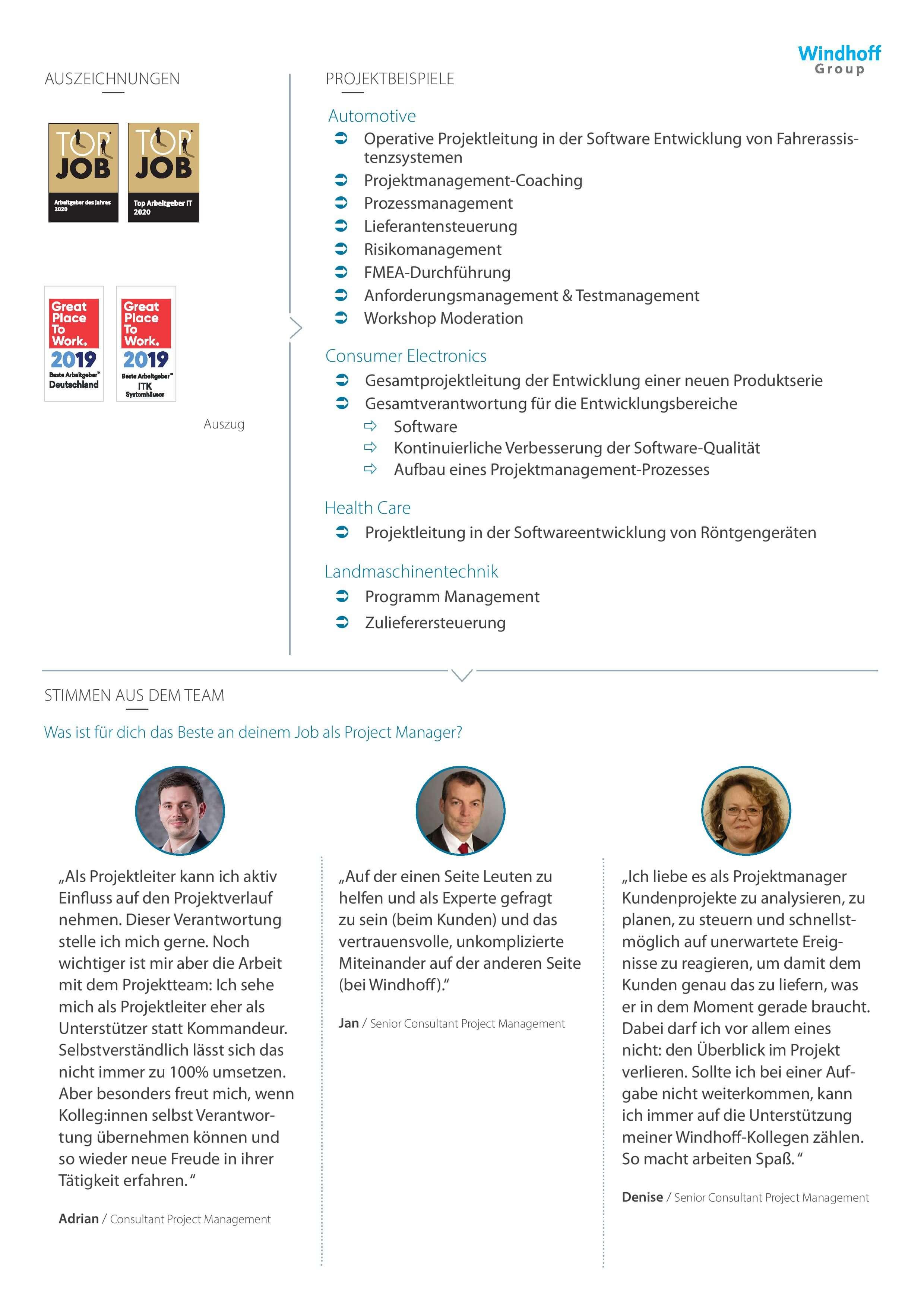Steckbrief-Project-Management